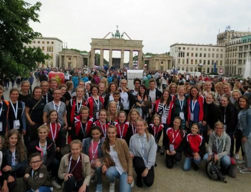 Begeisterte Turnfestteilnehmer zurück aus Berlin